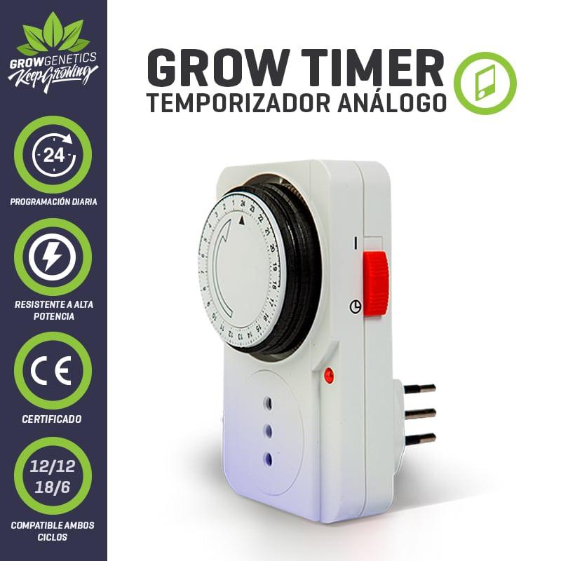 Temporizador analogo timmer