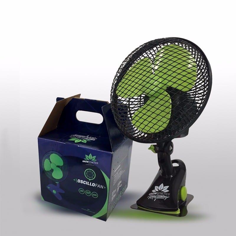 Ventilador Pinza con Rotor Oscilofan