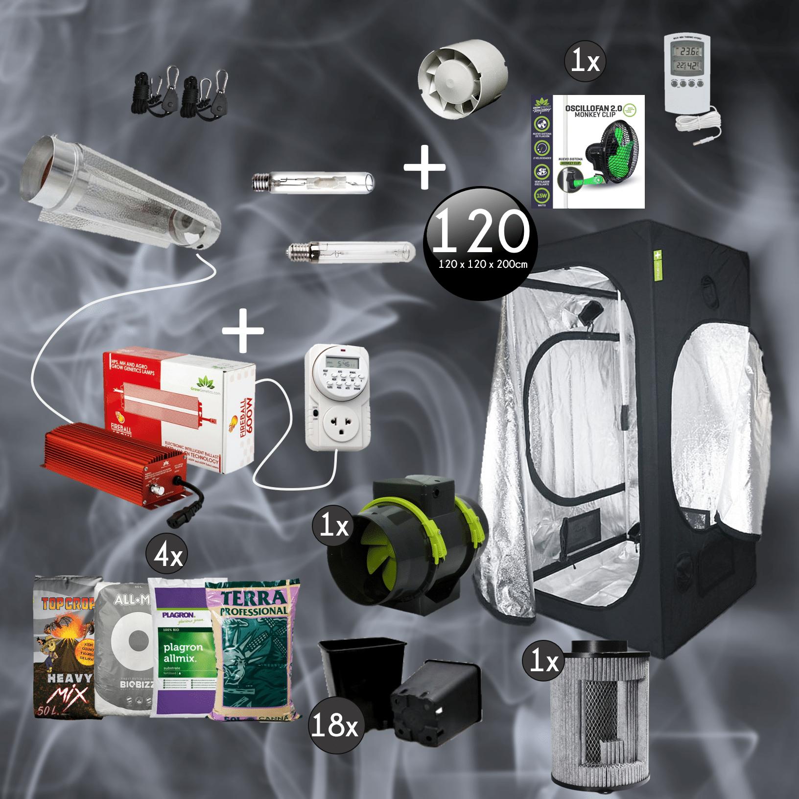 Kit Pro Full 120