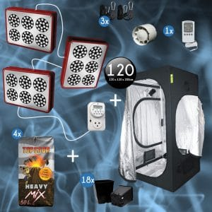 Kit Apollo led Pro 120