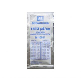liquido calibrador de ec milwakee 1413 grow shop growcenter chile santiago maipu conductividad calibracion