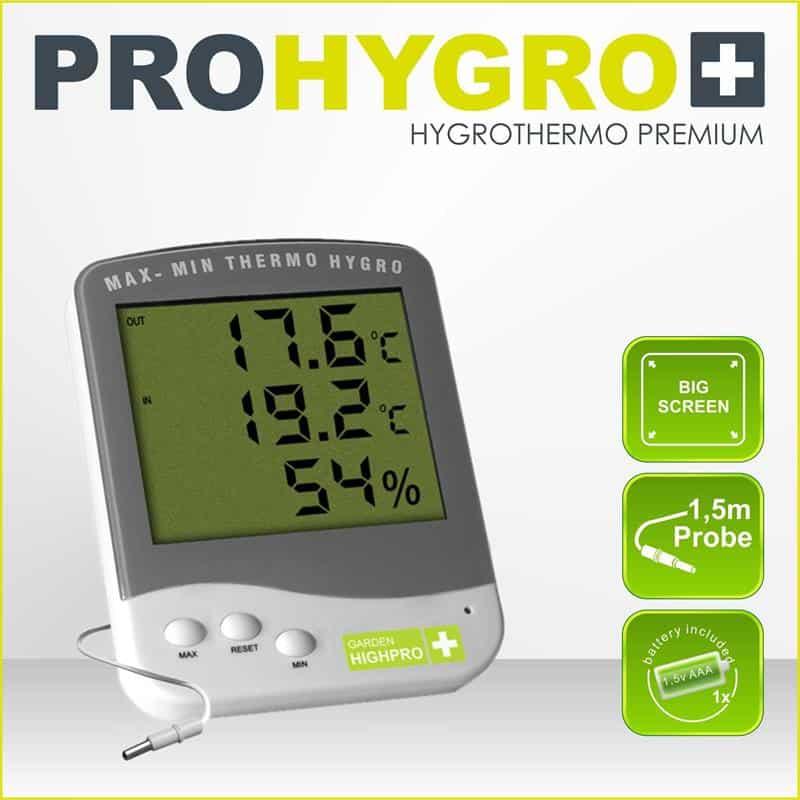 Termohigrometro Premium con Sonda